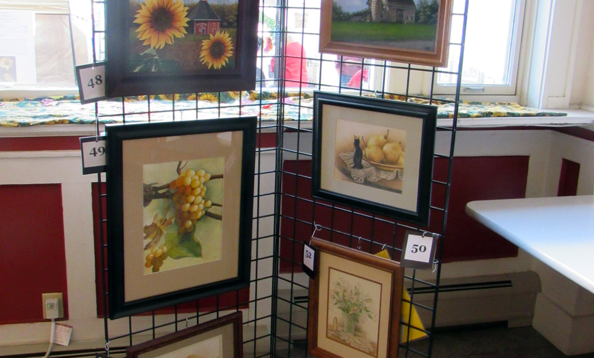 Artist Walk Sunflower Fair La Porte Indiana